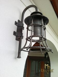 A wrought wall lamp KLASIK ZVON (SE 0410)