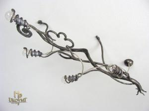 A wrought iron chandelier Root (SI0110)