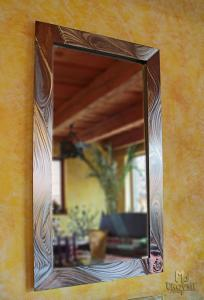 A stainless steel mirror (NBK-303)